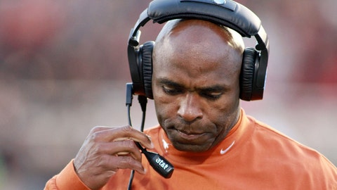 Charlie Strong would coach himself off the hot seat