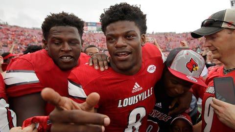 Lamar Jackson, QB, Louisville (2,144 votes)