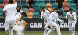 South Africa takes an 86-run 1st innings lead on day 1
