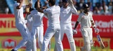 Ashwin, Saha steady India after early blows