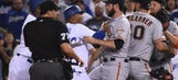 Vin Scully made the Dodgers-Giants brawl sound almost serene