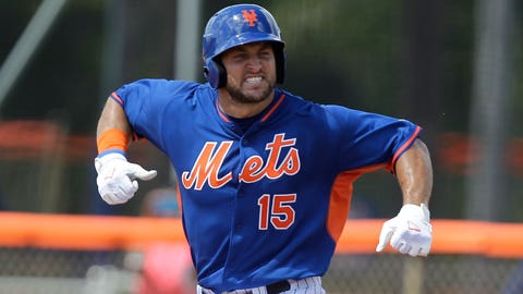 Tim Tebow OPS (on-base plus slugging) after first 20 at-bats in the Arizona Fall League