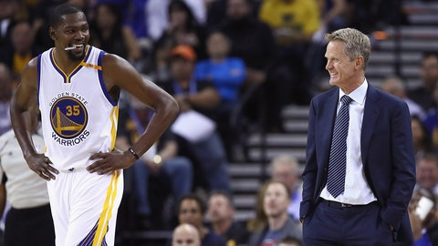 The Warriors will need Durant at some point