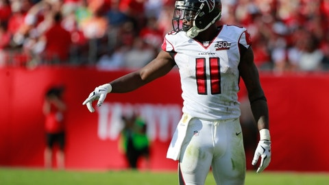 Julio Jones, WR, Falcons (ankle)