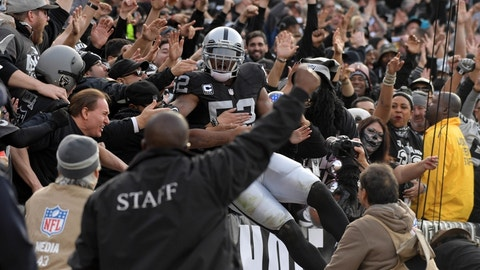RAIDERS (-3.5) over Colts (Over/under: 53)