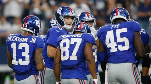The Giants have nothing to play for