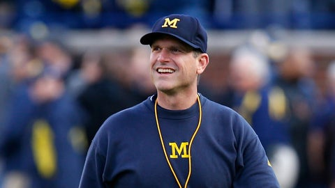 Jim Harbaugh's legend keeps growing ... to a point