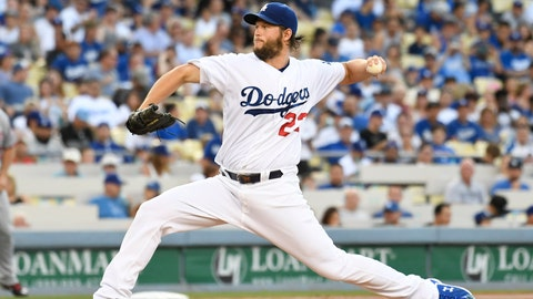TOP TIER: Clayton Kershaw, LAD (vs. SF, vs. COL)