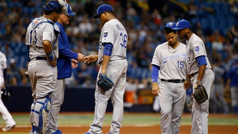 AVOID: Edinson Volquez, KC (@ CLE, @ DET)