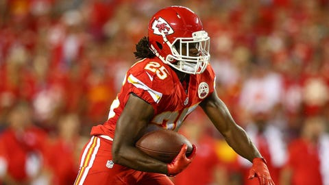 RBs: Kansas City Chiefs