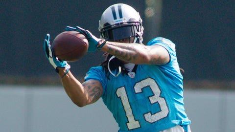 WRs: Carolina Panthers