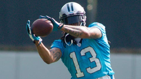 WRs: Carolina Panthers