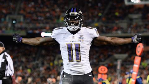 WRs: Baltimore Ravens