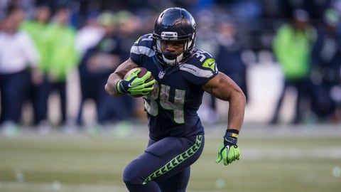 RBs: Seattle Seahawks