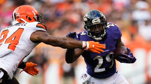 Ravens rushing game quiet … again