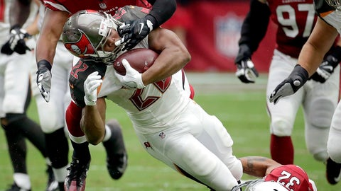 Doug Martin's injury status TBD