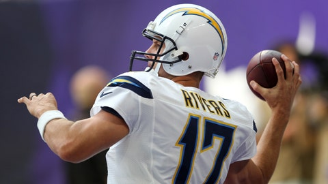 QB Philip Rivers, Chargers ($6,700)