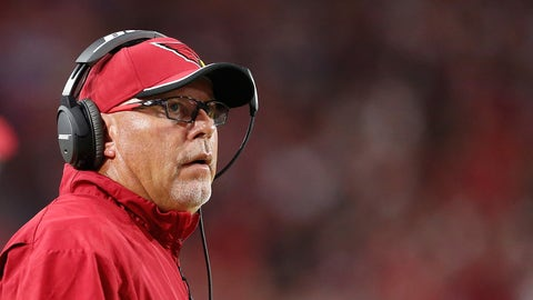 Does Bruce Arians fully trust David Johnson?