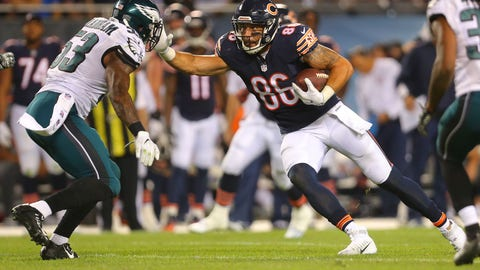 SIT: Zach Miller, Bears