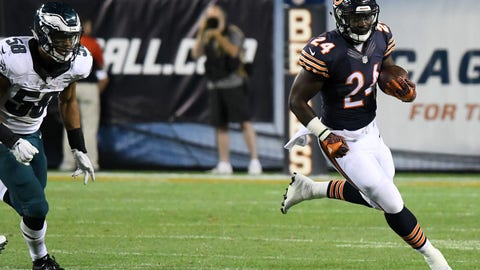 RB Jordan Howard, Bears ($3,700)