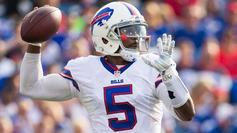 Buffalo Bills: QB Tyrod Taylor