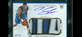 Timberwolves Karl-Anthony Towns wins ROY, autographed card prices soar