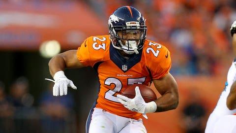 Devontae Booker, RB, Broncos (NA last week)