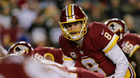 Quarterback: Kirk Cousins, Redskins