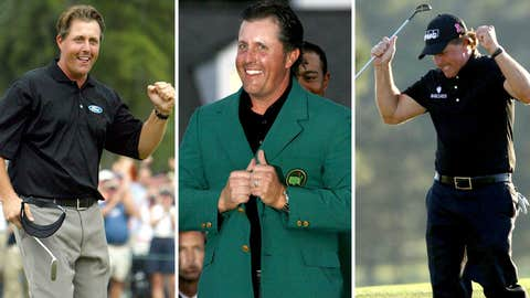 Phil Mickelson (2004, 2006, 2010)