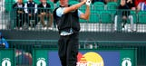 Players begrudgingly accept two-tee start at British Open