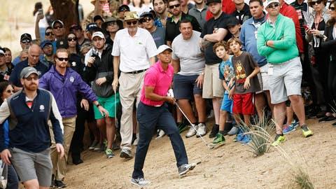 Tiger's return to Scottsdale