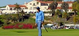 Bubba Watson works his way into the lead at Riviera