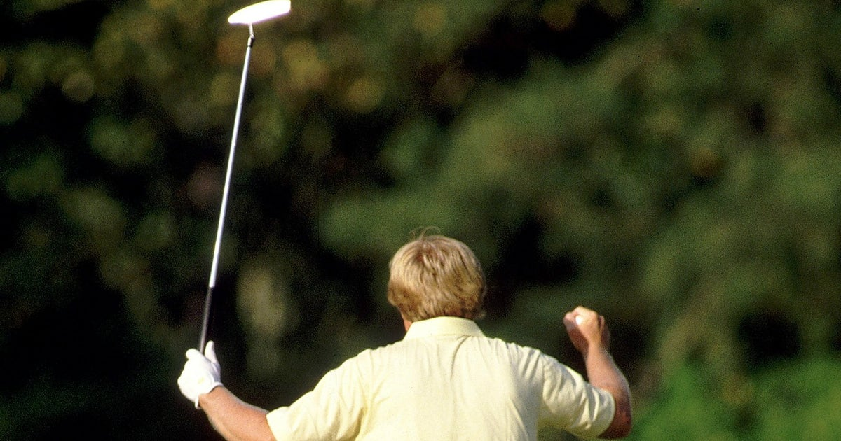 jack nicklaus kids gave   putter    win   masters fox sports