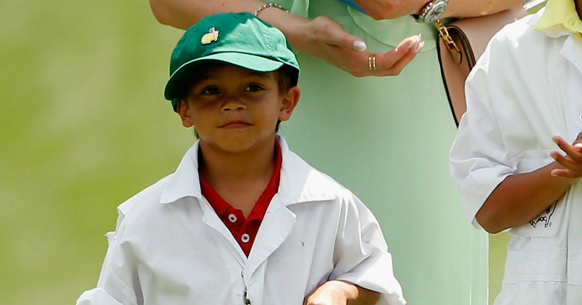 Tiger Woods 7 Year Old Son Charlie Finishes T2 At Junior