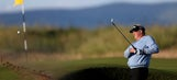 Montgomerie recovers from 1st-hole problems at British Open