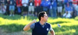Watch Rory McIlroy make eagle, then bow to quiet the 'hostile' U.S. Ryder Cup crowd