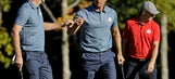 The Latest: McIlroy's bow caps European comeback