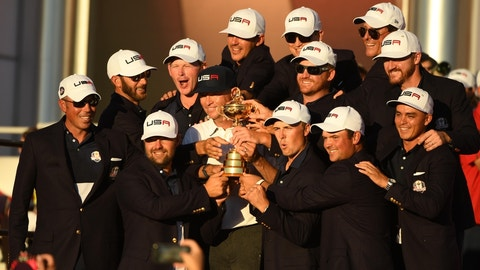 Winning the Ryder Cup