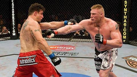 Frank Mir vs. Brock Lesnar