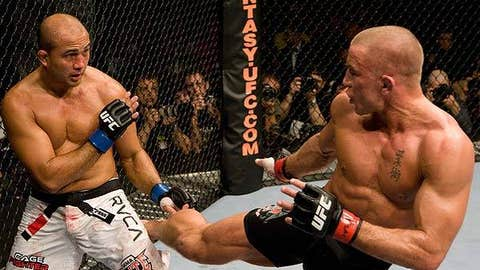 BJ Penn vs. Georges St-Pierre