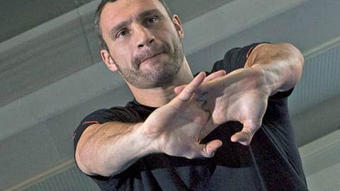 Vitali Klitschko, heavyweight (44-2, 40 KOs)