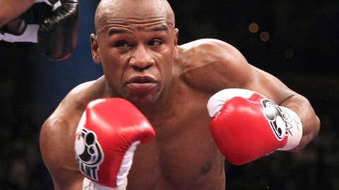 Floyd Mayweather Jr., welterweight (43-0, 26 KOs)