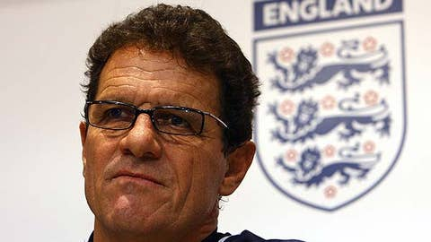 Manager of England's national soccer team