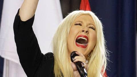 Christina Aguilera, Super Bowl XLV