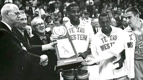 Texas Western upsets Kentucky in 1966 national title game