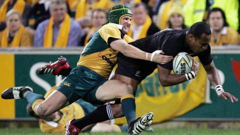 Rugby: Australia vs. New Zealand