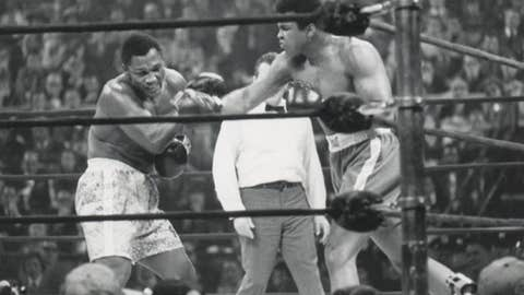 Boxing: Frazier vs. Ali