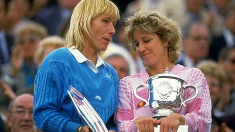 Tennis: Navratilova vs. Evert