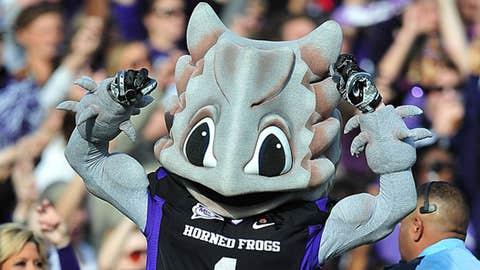 TCU Horned Frogs mascot