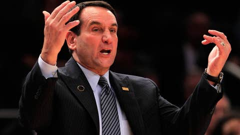 1K wins but only 1 Coach K
